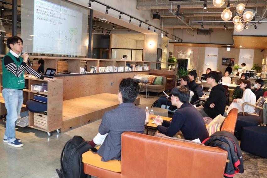 写真2 「東京まちづくりゼミ」プレイベントには多くの若者が参加