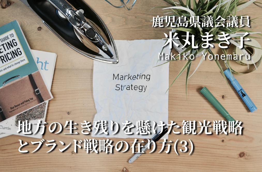 地方の生き残りを懸けた観光戦略とブランド戦略の在り方(3)