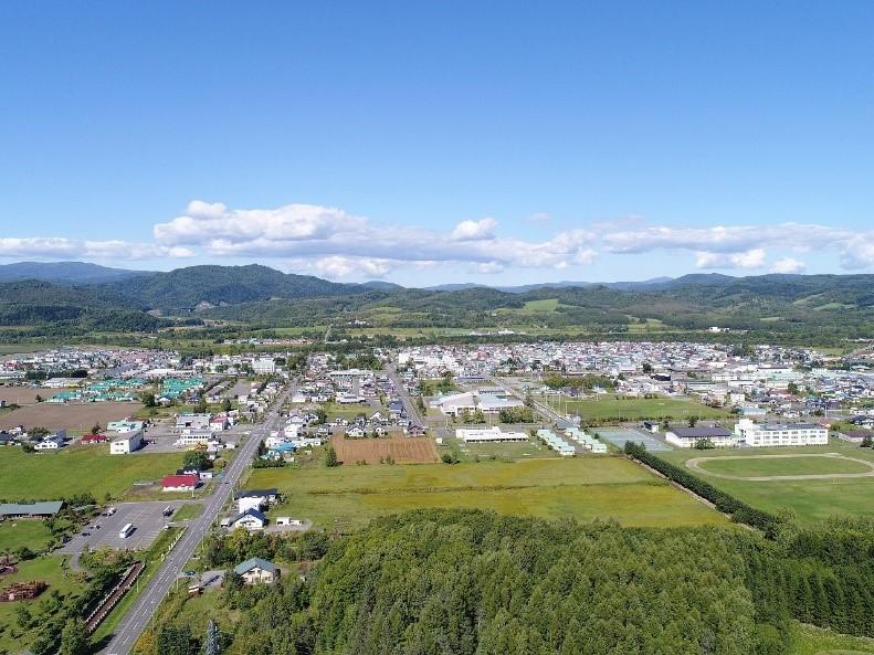 自然豊かな北海道下川町