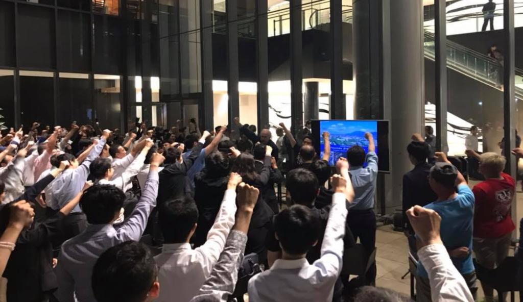 <写真1>2019年に東京で行ったつくば市スタートアップイベント